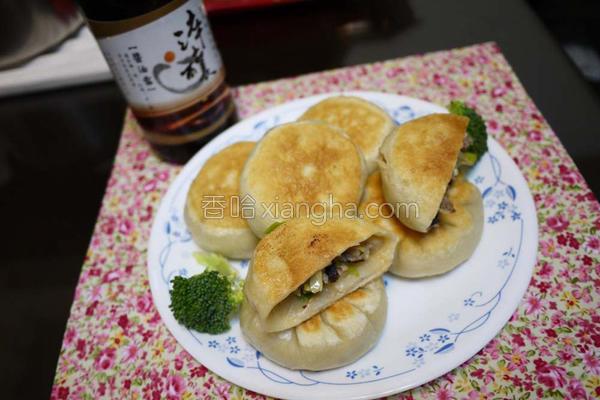 香菇高丽菜饼的做法
