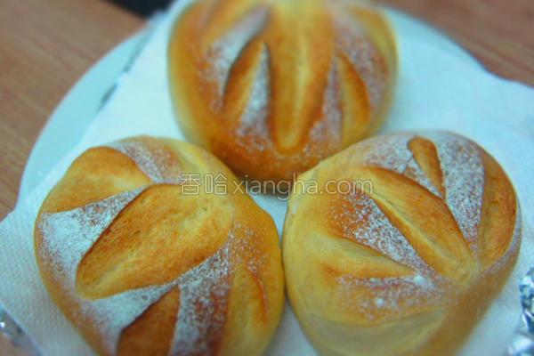 牛奶法国面包的做法