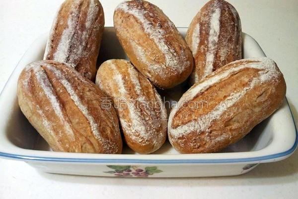 黑糖牛奶哈斯面包的做法