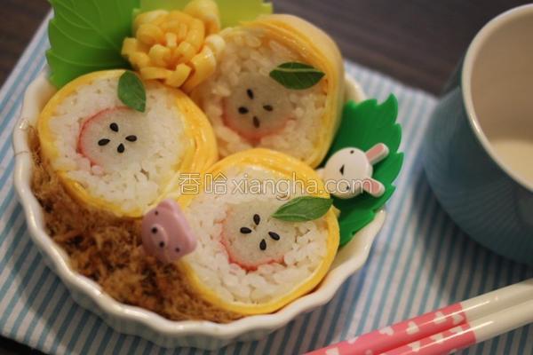 小苹果寿司的做法