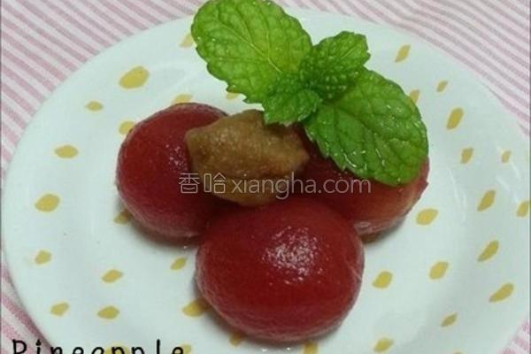 梅蜜小番茄的做法