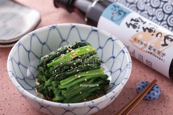 日式凉拌菠菜的做法