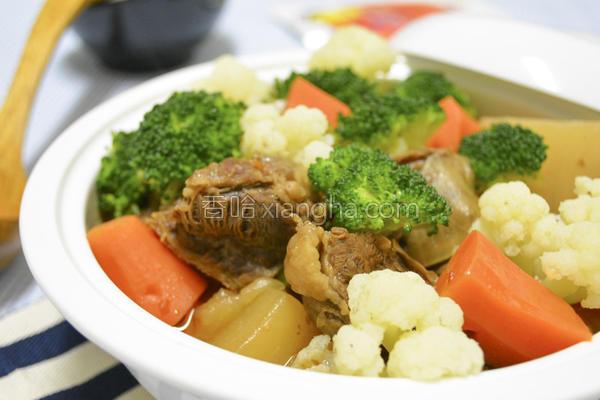 红烧牛肉炖萝卜的做法