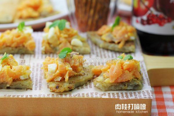 燻鲑鱼马铃薯饼的做法
