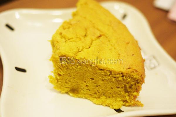 咖哩戚风咸蛋糕的做法