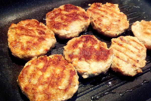 汉堡肉的做法