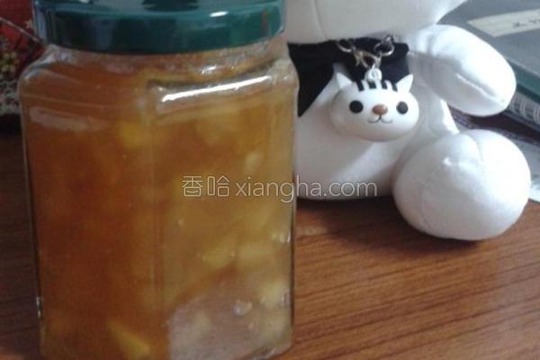 苹果果粒酱的做法