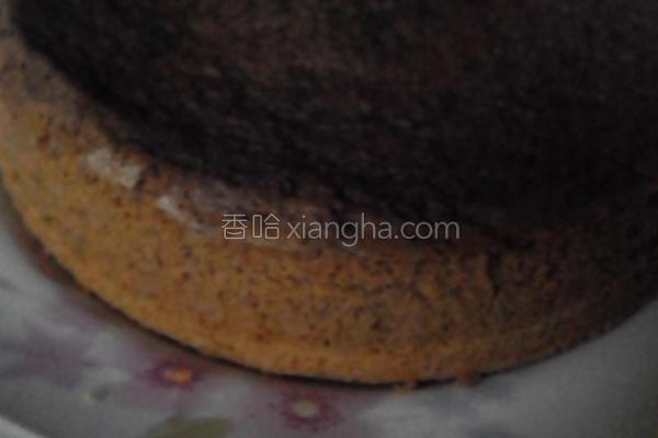 海绵巧克力蛋糕的做法