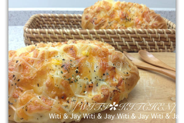 焗起司蔬菜面包的做法