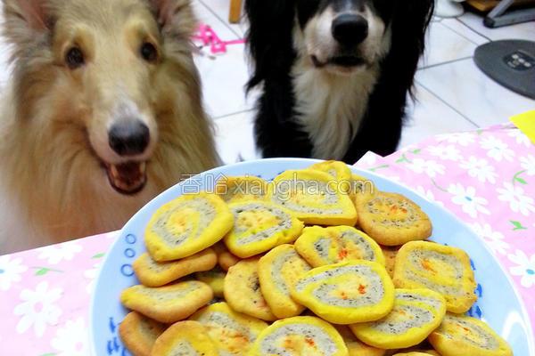 双色圈圈饼的做法