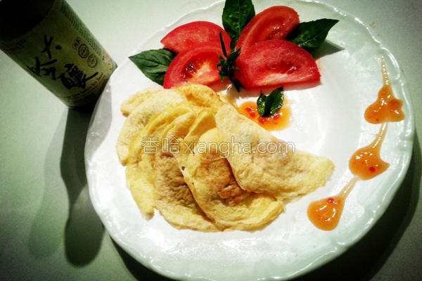 黄金蛋饺的做法
