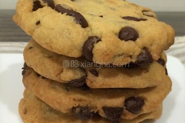 巧克力碎片饼干的做法