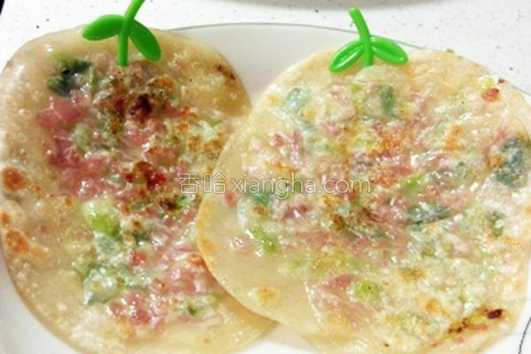 饺子皮小葱饼的做法