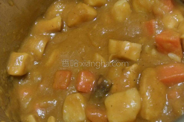 南瓜杏鲍菇咖哩的做法