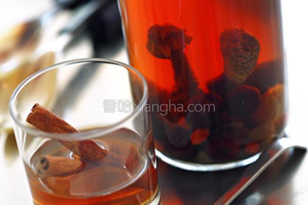 小磨坊肉桂养生茶的做法