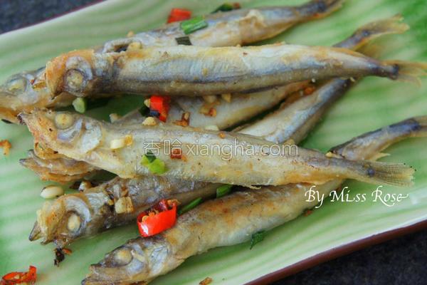 椒盐多春鱼的做法