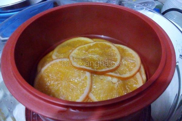 冰糖炖香橙的做法