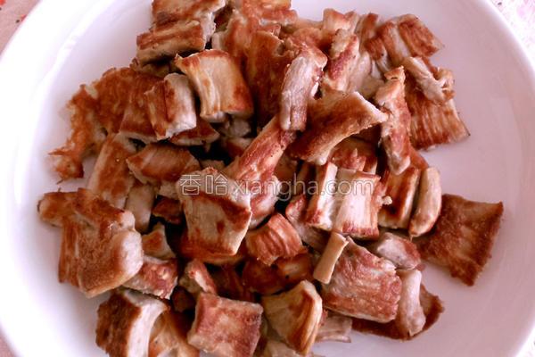 素羊肉的做法