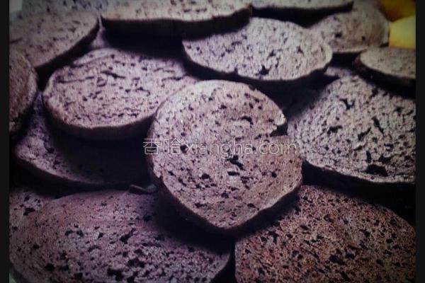 巧克力薄脆饼的做法
