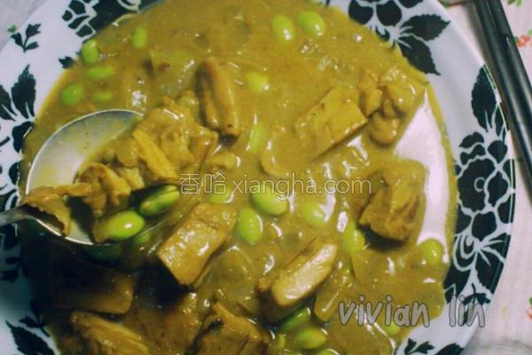 英式咖哩鸡汤的做法