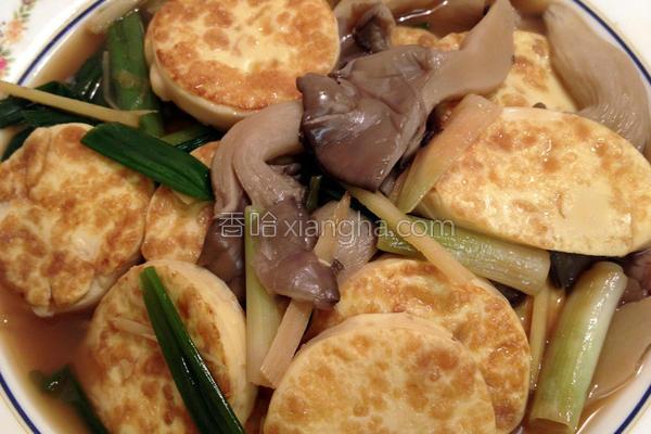 葱烧玉子豆腐的做法