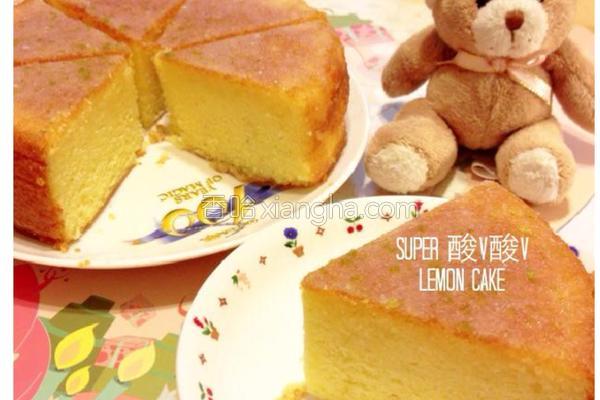 酸V森D柠檬蛋糕的做法