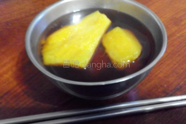 黑糖地瓜汤的做法
