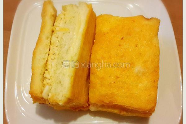 烤起司蛋沙拉土司的做法