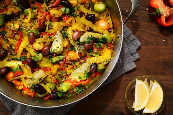 西班牙蔬菜炖饭的做法