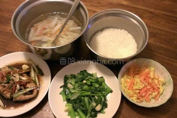 胡萝卜胡瓜汤的做法