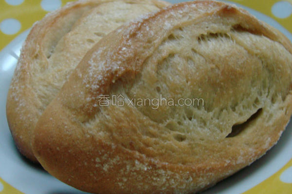 牛奶香蕉面包的做法