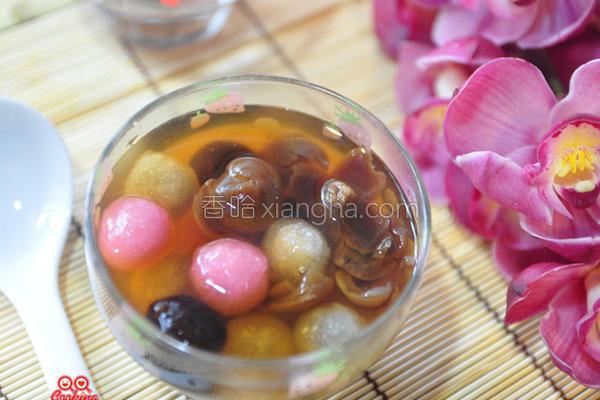 桂圆冰糖甜心汤圆的做法