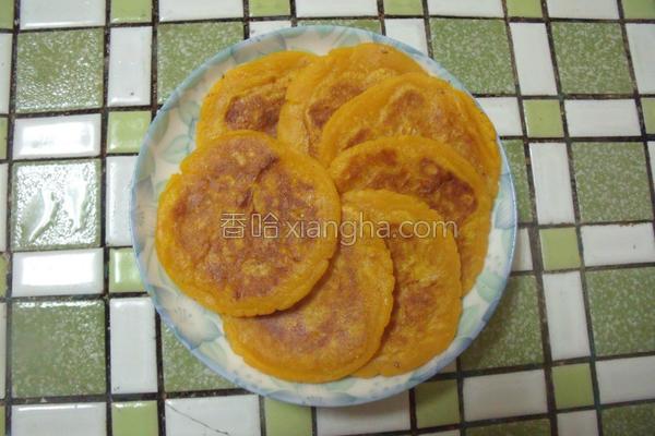 地瓜煎饼的做法