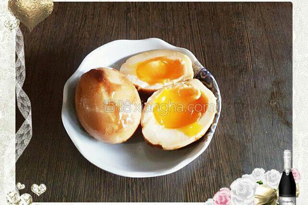 黄金糖心蛋的做法