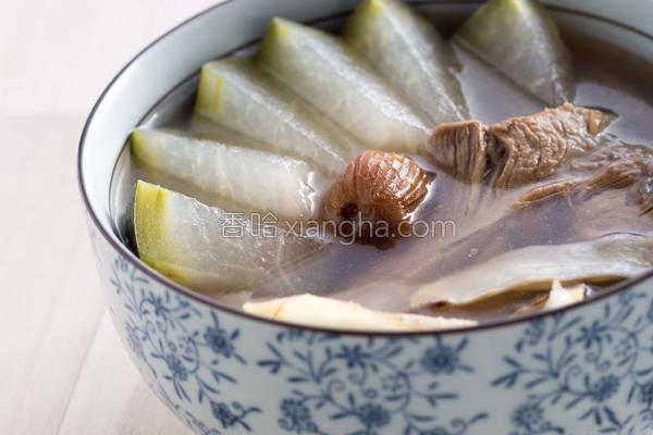 薏仁玉竹美肤汤的做法