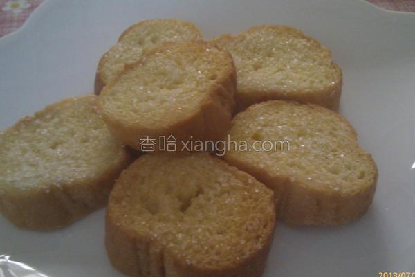 烤脆糖法式面包的做法