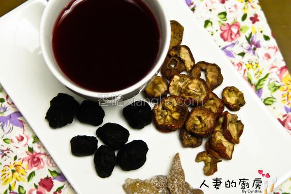 洛神山楂茶的做法
