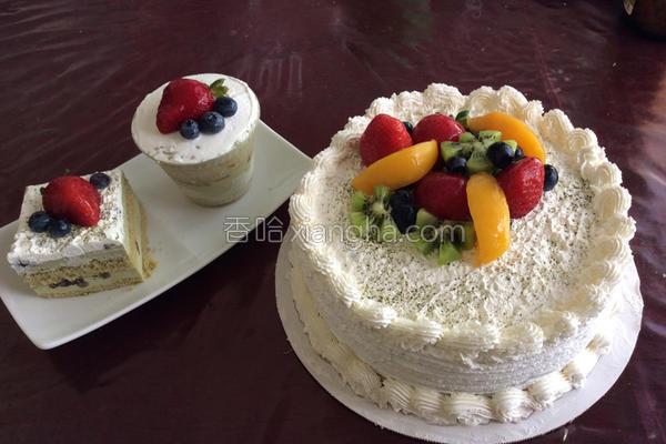 宇治金时慕斯蛋糕的做法