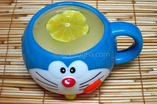 金桔梅子茶的做法