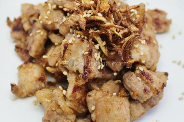 姜丝咸猪肉的做法