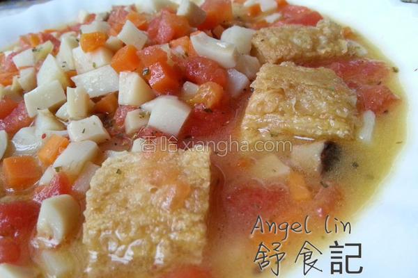田园蔬果汤的做法