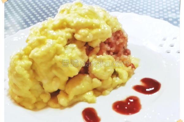 半熟蛋包饭的做法