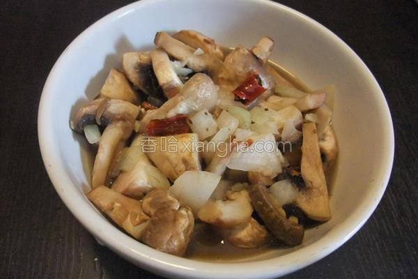 奶油蒜香蘑菇的做法