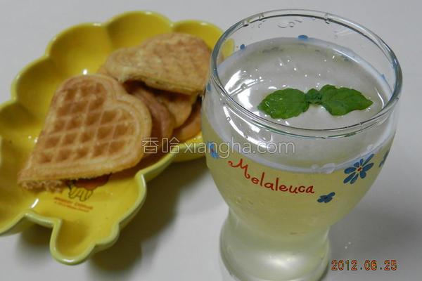 蜂蜜绿茶的做法