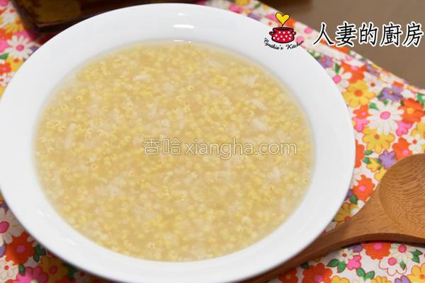 厨房小米粥的做法