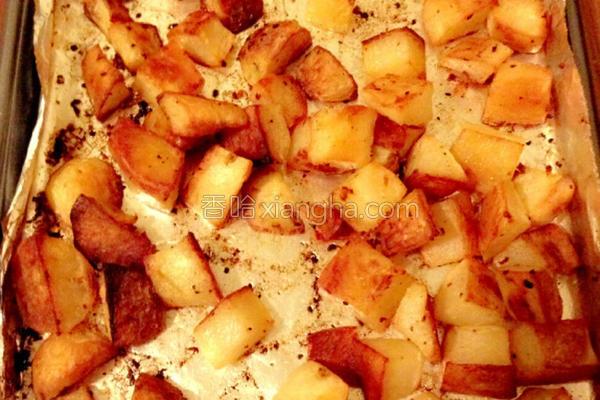 香脆烤马铃薯的做法
