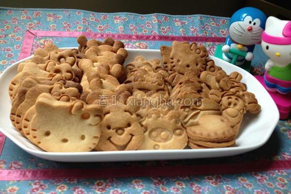卡通造型饼干的做法