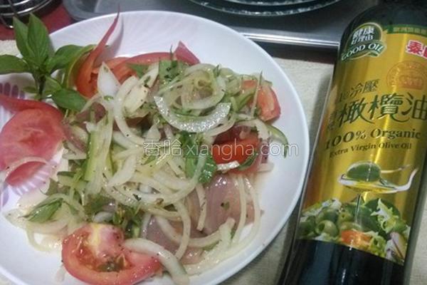 意大利式生鱼沙拉的做法