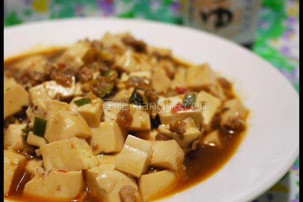红烧肉末豆腐的做法