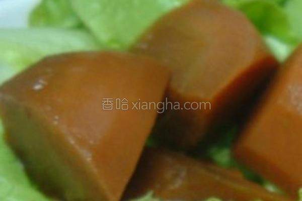 风萝卜香菇煮的做法